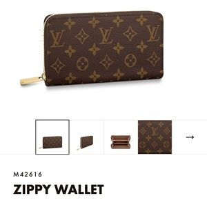 Louis Vuitton Zippy wallet - like new condition